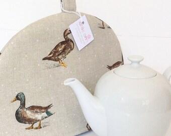 Couvre-théière, canards Tea Cosy, canards, l'heure du thé!, accessoires de cuisine, canards colverts Tea Cosy,