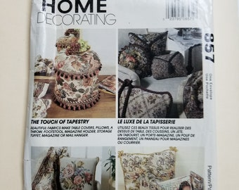 McCall's Home Decorating Pattern  #857