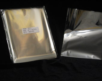 100 A2 Clear/Cello Food Grade Envelopes/Bags/Sleeves for cards/photos/candy/treats