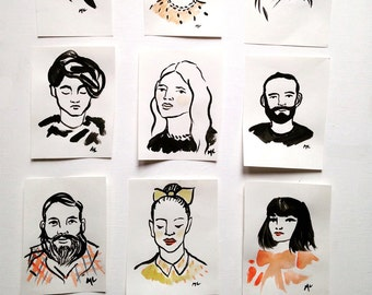 Custom Ink Portraits