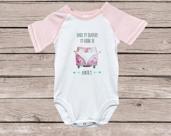 Aunt Shirt, Auntie, Baby Girl, Gift from Aunt, Gift for Niece, Baby Shower Gift, Aunt Shirt, Shirt for Niece, Baby Gift from Aunt