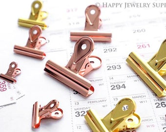65mm / 50mm / 40mm / 30mm / 20mm Documentary Notes Paper Clips / Financial Office Supplies Ticket Folder(C08)