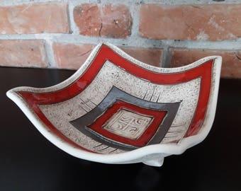 Handmade Ceramic Fruit Bowl, Ceramic Fruit Bowl, Pottery Fruit Bowl, Bowl, Unique Fruit Bowl, Ceramics and Pottery, Art Bowl, Wedding Gift