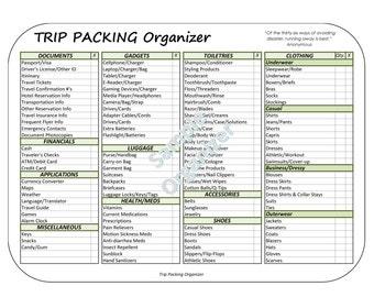 trip organizer