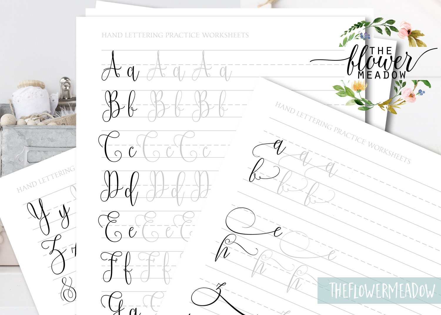 Calligraphy worksheet learn calligraphy beginners hand zoom baditri Images