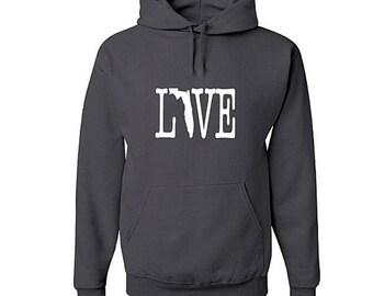 Love Oregon Hoodie, Oregon Sweatshirt, Oregon Shirt, Oregon Gifts, Oregon hooded sweatshirt