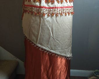 Festive Belly Dancing Skirt