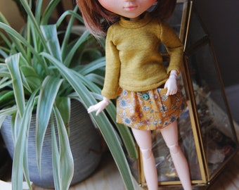 mustard flower set for Pullip/Blythe