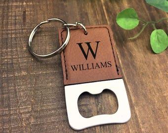 Personalized Bottle Opener Keychain - Mr & Mrs Bottle Opener  - Customized - Wedding Gift - Bottle Opener - Keychain - Anniversary Gift