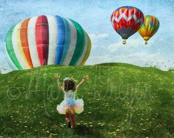 Childrens Art. Fine Art Photography. Whimsical. Colorful. Fun. Scenic Wall Art. Child Decor. Home Decor.