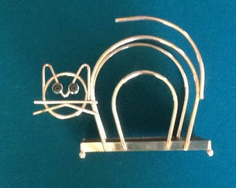 Cat napkin holder from the 60's