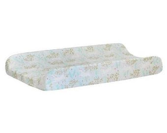 Changing Pad Cover | Unicorn in Mint