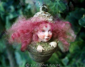 Pixie girl Sissy, handmade decoration