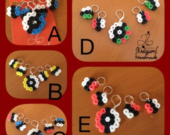 Snag free stitch markers - Set of 5 each - pokemon theme
