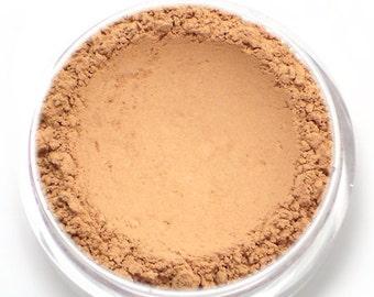 """Matte Pastel Peach Eyeshadow - """"Peachfuzz"""" - Vegan Mineral Makeup"""
