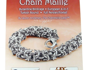 Instructions Basics Of Chain Maille Book by The ChainMaille Lady Autographed Copy