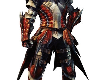Dreadking Monster Hunter Rathalos armor
