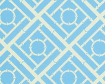 Geometric Cane in Majestic Blue ~ Tailored by Annette Tatum for Free Spirit cotton fabric