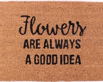 Doormat Flowers