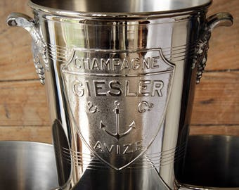 A vintage Giesler champagne buckets. 4 Available
