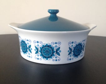Vintage 1970s Johnson bros tureen and lid