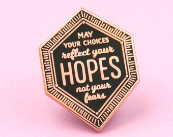 Nelson Mandela quote enamel pin - inspiring quote - quote pin