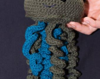 Crochet Jellyfish Toy