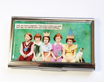 Business Card Case, Funny Card Case, Card case, business card holder, Humor, Funny Business Card Case (2954)