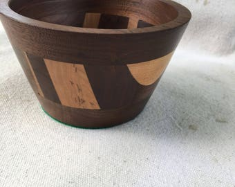 Wooden trinket bowl
