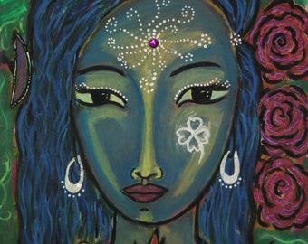 Prints of Divine Feminine Art- Abundance
