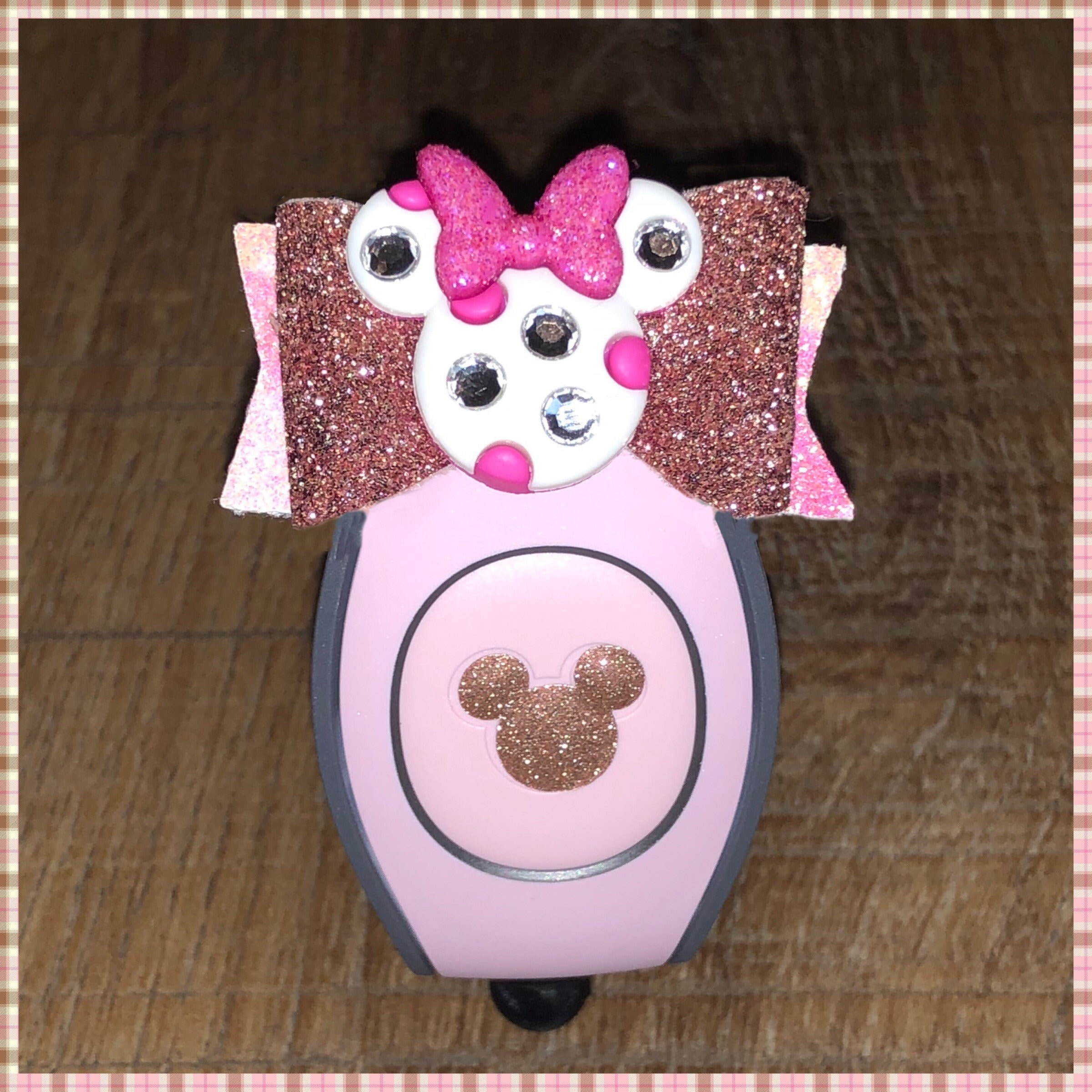 Magicband Bow / Bow / Minnie / Millennial Pink / Rose Gold