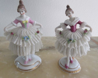 GERMANY DANCING FIGURINES