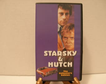 VHS Tape, Starsky & Hutch, The Collector's Edition, David Soul, Paul Michael Glaser, Color, Full Screen, Free Shipping