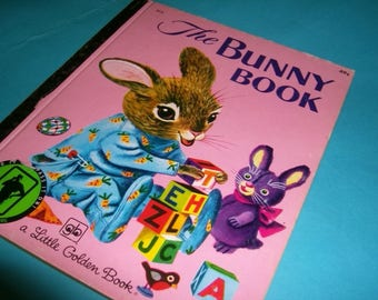 Little Golden The Bunny Book / 1955 / Like New