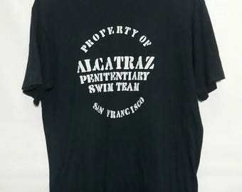 Vintage late 80s alcatraz shirt anvil tag