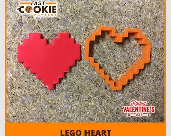 Lego Heart Cookie Cutter