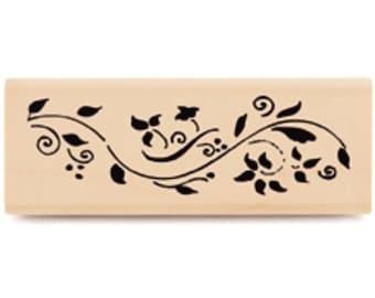 Berryvine Border Wood Mounted Rubber Stamp Scrapbooking & Paper Craft Supplies