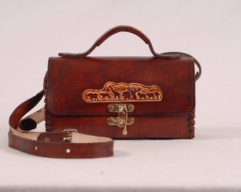 Ladies Handbag - Half round