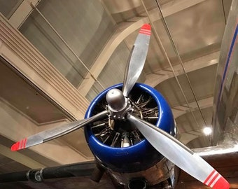 Propeller Photograph, Digital Print, Henry Ford Museum, Digital Download, Fine Art Photography, Wall