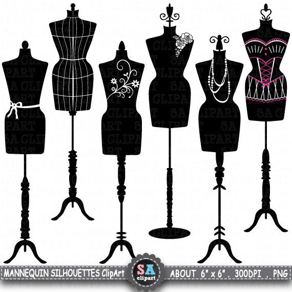 mannequin silhouette clipart mannequin silhouette