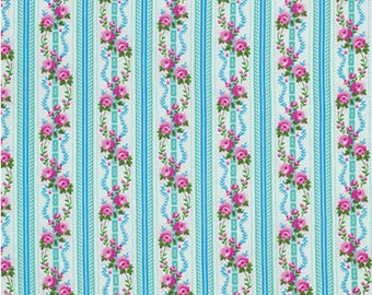 Jennifer Paganelli for Free Spirit - HAPPY LAND - Martha in Sky - Cotton Fabric