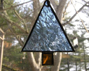 Stained Glass Christmas Trees, Christmas Decor, Tree Ornaments
