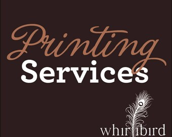"Printing Services - Get 5""x7"" Invitations + Envelopes and FREE SHIPPING - Pick Any Quantity - PRTSRV"