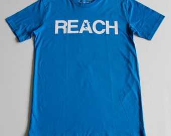 The REACH / ESCAPE Parkour T-Shirt - Blue
