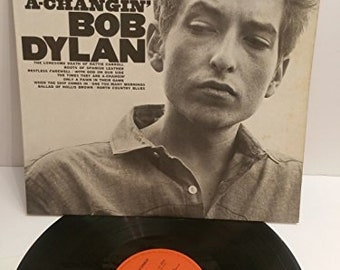 Bob Dylan - The Times they are a changing (Vinyl)
