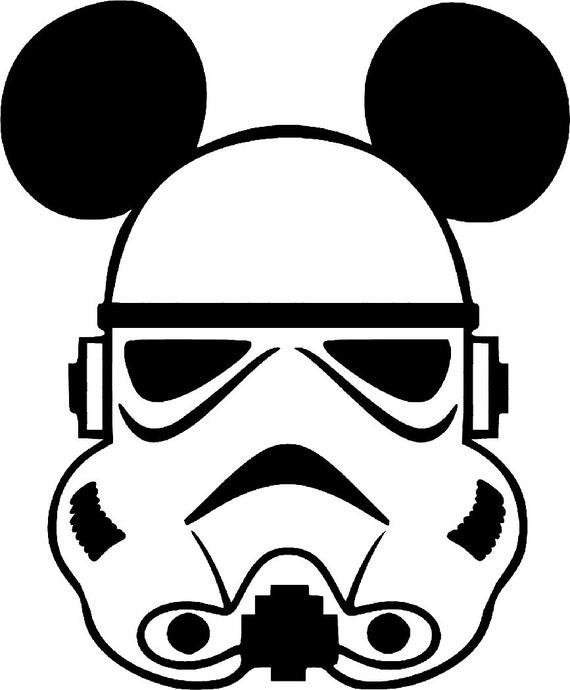 Svg Disney Stormtrooper Mickey Star Wars Star Wars Mickey