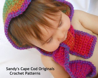 Pixie Scoodie Crochet Pattern pdf 438