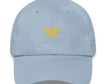 Hyrule Crest Dad Hat - Hyrule Crest - Hylian Crest - Hylian Crest Hat - Wing Crest - Wing Crest Hat - Zelda Hat - Hyrule Crest Hat - Hyrule