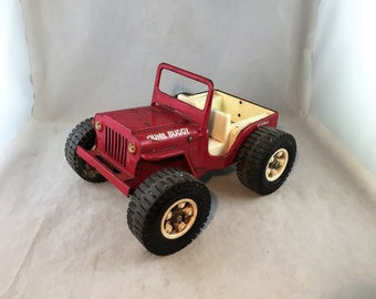 Vintage Tonka 'Dune Buggy' Jeep Played with Condition     01943