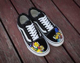 93ec9186cdf382 custom vans shoes etsy nz for sale